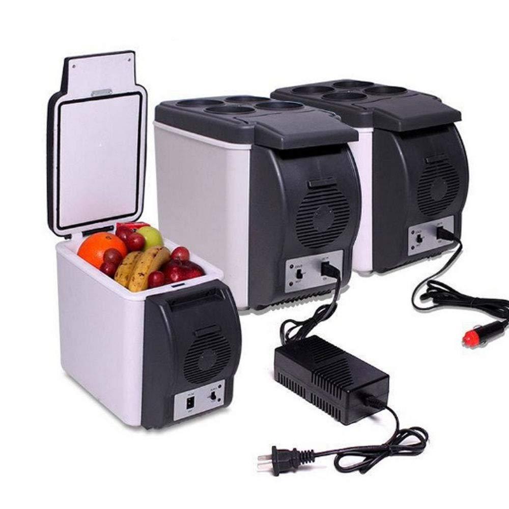 Refroidisseur Électrique Mini Réfrigérateur Et Plus Chaud (6 Litres): 110V AC/12V DC Portable Système Thermoélectrique Pour Voiture Home [Classe énergétique A] 297210