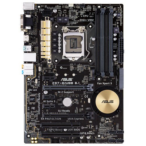 ASUS ATX DDR3 2600 LGA 1150 - Placa Base Z97-A/USB 3.1 ...