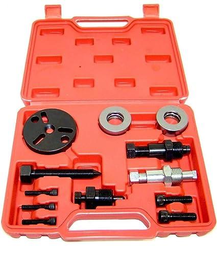 A/C compresor embrague extractor extractor instalador herramienta de herramientas de aire acondicionado de coche