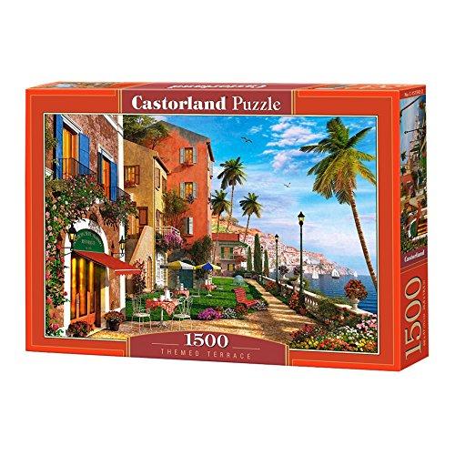 Castorland Themed Terrace Jigsaw Puzzle (1500 Piece) (Themed Jigsaw)