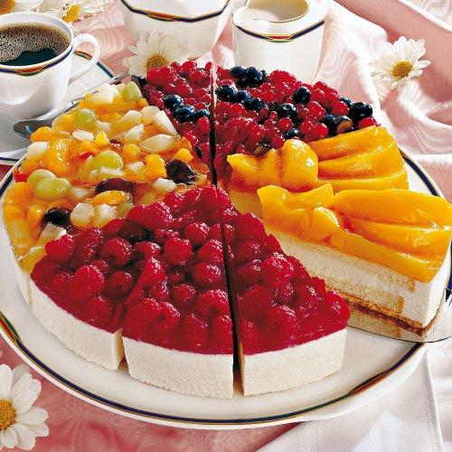 Sahne frucht kuchen