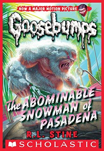 Classic Goosebumps #27: The Abominable Snowman of Pasadena (Snowman Soft)