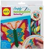 ALEX Toys - Craft, Simply Needlepoint Butterfly Kit