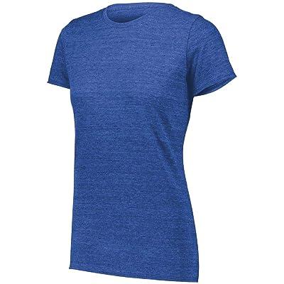 Augusta Sportswear Women's Tri-Blend T-Shirt: Sports & Outdoors