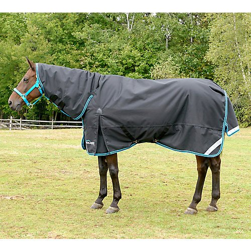 Shires Highlander Plus 200G Combo Turnout 84 Black by Shires