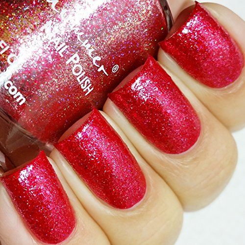 Ruby Nail Polish - 0.5 oz Full Sized Bottle (Red Sparkle Nail Polish compare prices)