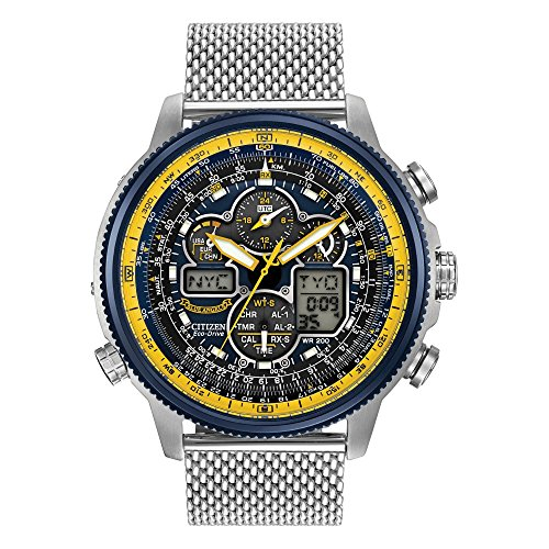 Men's Citizen Eco-Drive Blue Angels Navihawk A-T Watch JY8031-56L (56l Watch)