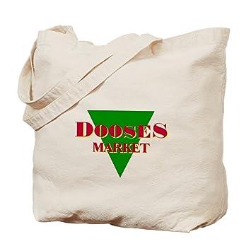 Amazon.com: CafePress - Doose's Market - Natural Canvas Tote Bag ...