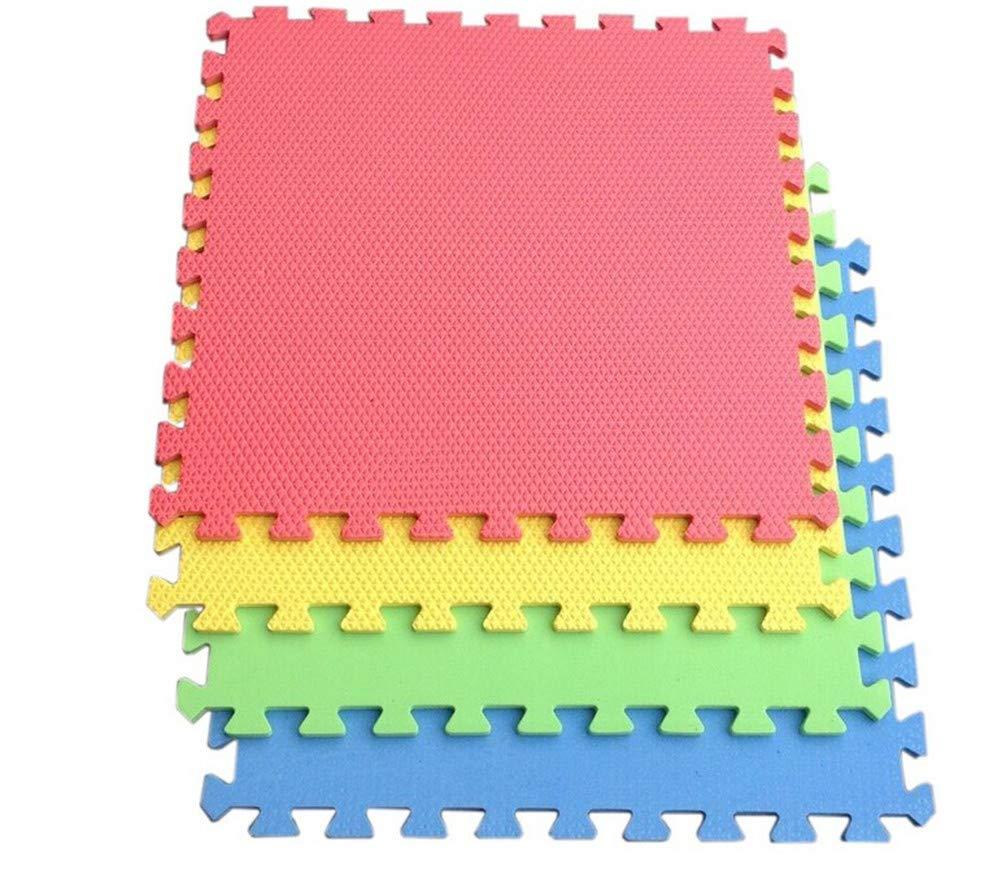 10PCS EVA Foam Cartoon Puzzle Mat Children Jigsaw Crawling Carpets Baby Playmats