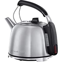 Russell Hobbs K65 Anniversary Electric Kettle - Retro Cordless Energy Saving Kettle with Rapid Boil, 1.2 Litre, 3000 W…