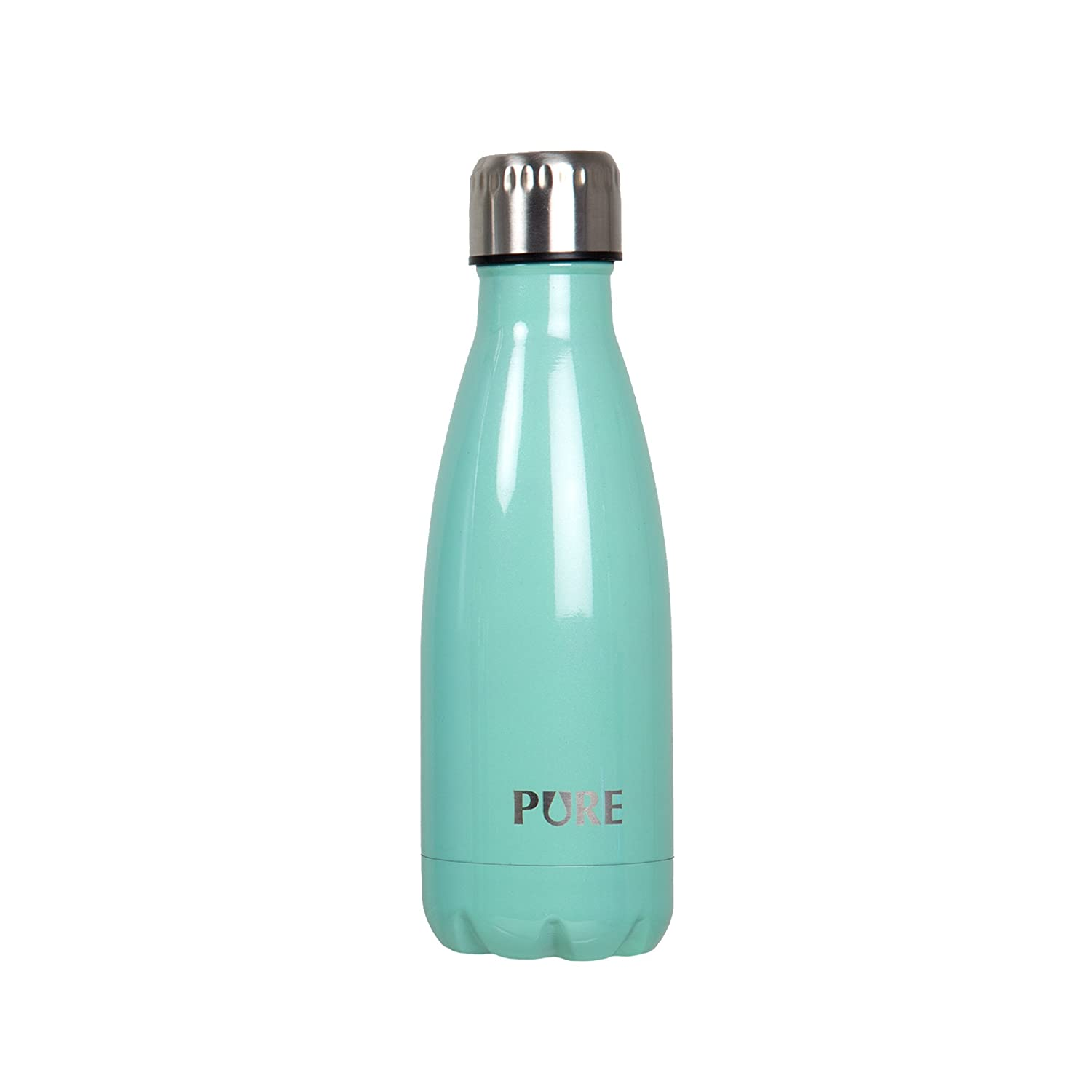 PURE Drinkware, Electroplated Insulated Bottle, 12 oz, Blue 70527DC-BU