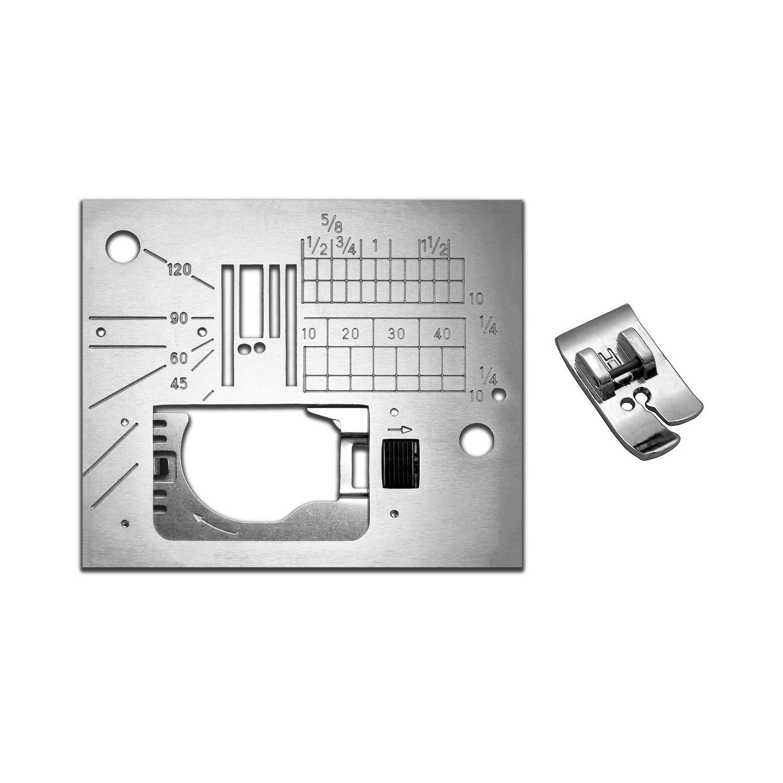Janome 6500P Straight Stitch Needle Plate & Foot 846808013 by Janome