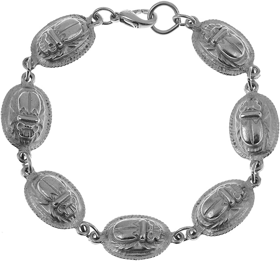 Manufactured in USA – Sale – Reproduction of The Egyptian Scarab Bracelet, from Our Museum Store Collection