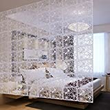 4Pcs Creative Simple Hanging Screen Curtain Room Divider