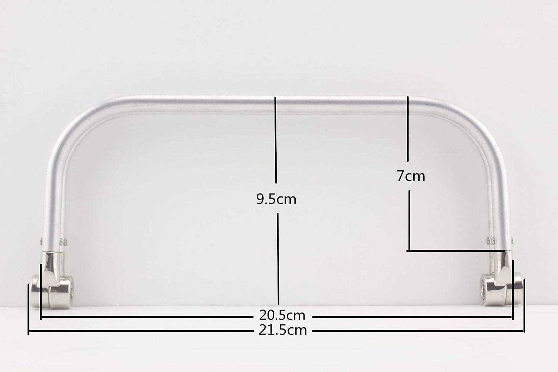 bag frame internal purse metal frame handbag iron 7 inch a pair Y56