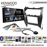 Volunteer Audio Kenwood DDX9904S Double Din Radio Install Kit with Apple CarPlay Android Auto Bluetooth Fits 2012-2013 Non Amplified Toyota Camry