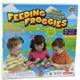 RONSHIN Children Feeding Simulation Hungry Frog Swallowing Beads Eating Beans Game Puzzle Games Learning Educational Toys