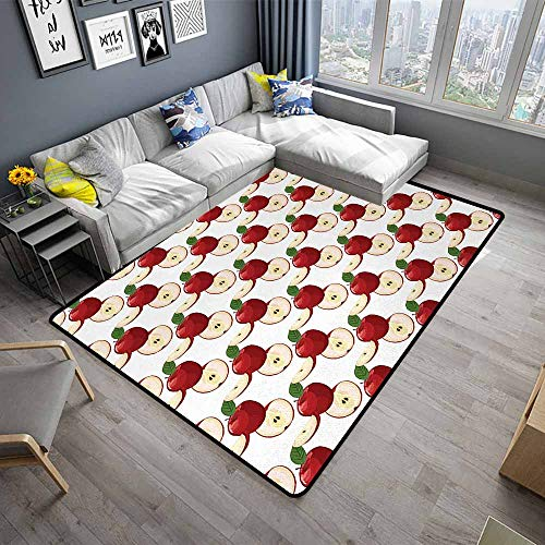 Apple,Anti-Slip Cooking Kitchen Carpets 36