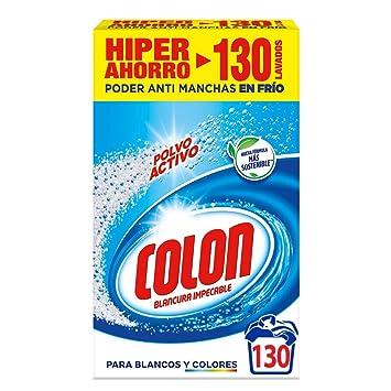 Colon Detergente para Lavadora en Polvo Activo - 130 lavados ...