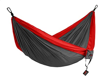 HONEST OUTFITTERS Double Camping Hammock with Hammock Tree Straps