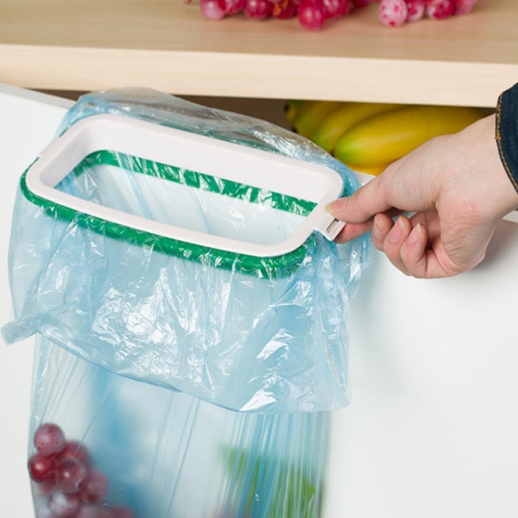 Plastic Garbage Bag Holder Bracket Stand Rack Kitchen Home Trash Organizer Rack