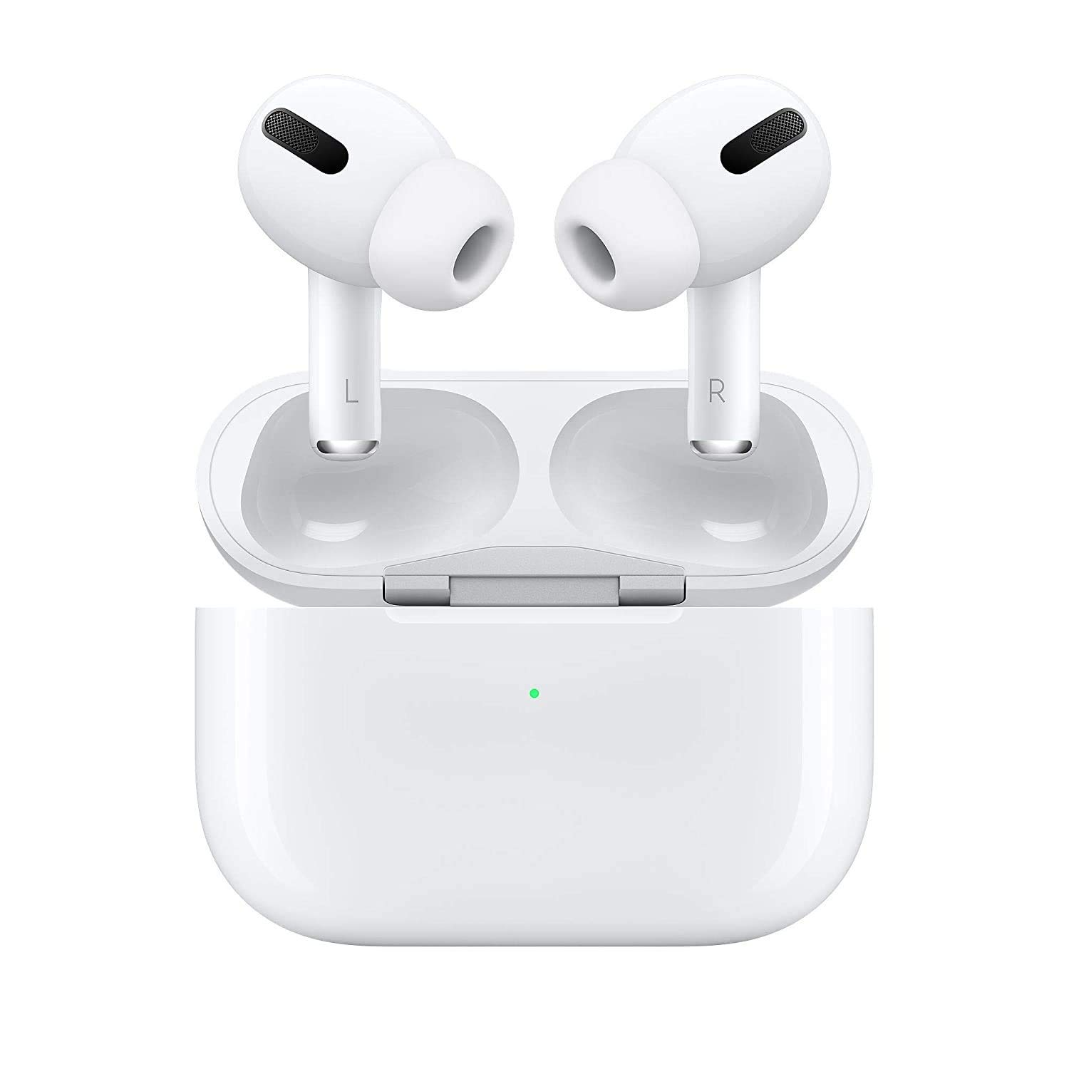 Cm Products Airpods Pro with Wireless Charging Case & Charging Cable Compatible with iOS/Android