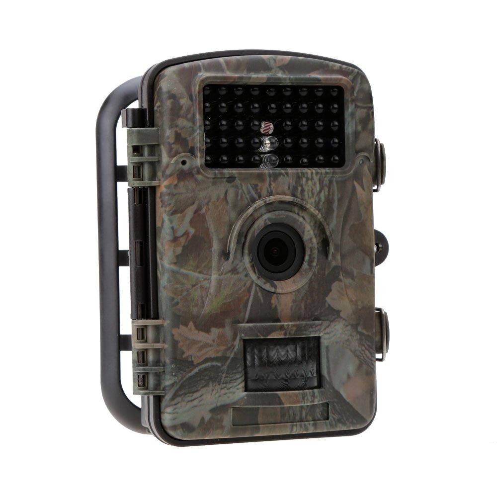 Lixada 野外動物観察 不法ゴミ投棄監視 トレイルカメラ 1200万画素 12MP HD デジタル赤外線 野生動物の生態調査に活躍 屋外用の防犯カメラとして最適 940nm 野外監視カメラ ハンティングカメラ 暗視効果抜群! B019YX60S4