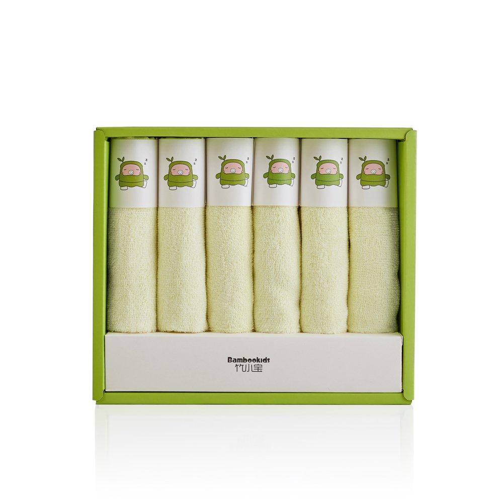All Natural toallas de toallitas de bebé toalla de baño, fibra de bambú), color marrón amarillo amarillo: Amazon.es: Bebé