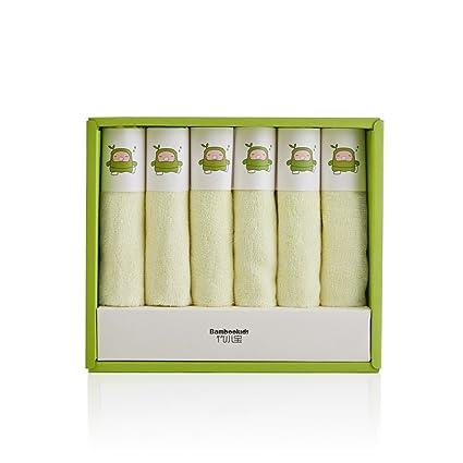 All Natural toallas de toallitas de bebé toalla de baño, fibra de bambú),