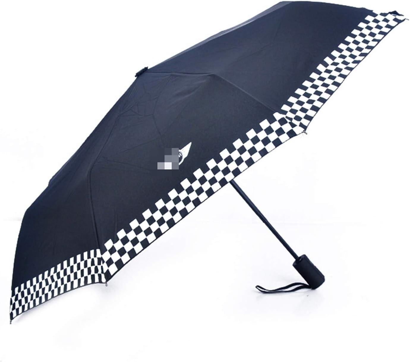 XHSM Coupe-Vent Double Couche Parapluie Invers/é Soleil Parapluie De Plage pour Mini pour Cooper One R55 R56 F54 F55 F56 F60 Accessoires De Style De Voiture D/écoration Voiture
