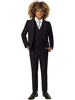 2b19a56299388e LOLANTA 5Pcs Boys Suits Formal Blazer Classic Fit Tuxedo Set Wedding ...