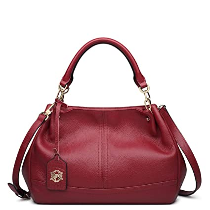 d704b3610be XDDQ Handbags For Ladies,Women Fashion Handbag,Leather Handheld Single  Shoulder Bag Lady Bag