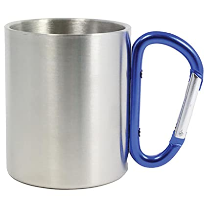 727a3b924aa Outdoor RX Stainless Steel Carabiner Mug