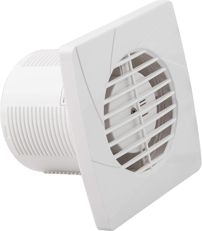 Alfa 35593 extractor de aire blanco empotrado 15W diametro de corte de 100MM 230 voltios