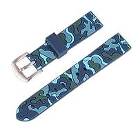 Aesy Ricambio di Cinturino di Silicone per Uomo e Donna, Waterproof Watch Straps in Gomma per Orologi e Smartwatch 18mm, 20mm, 22mm, 24mm