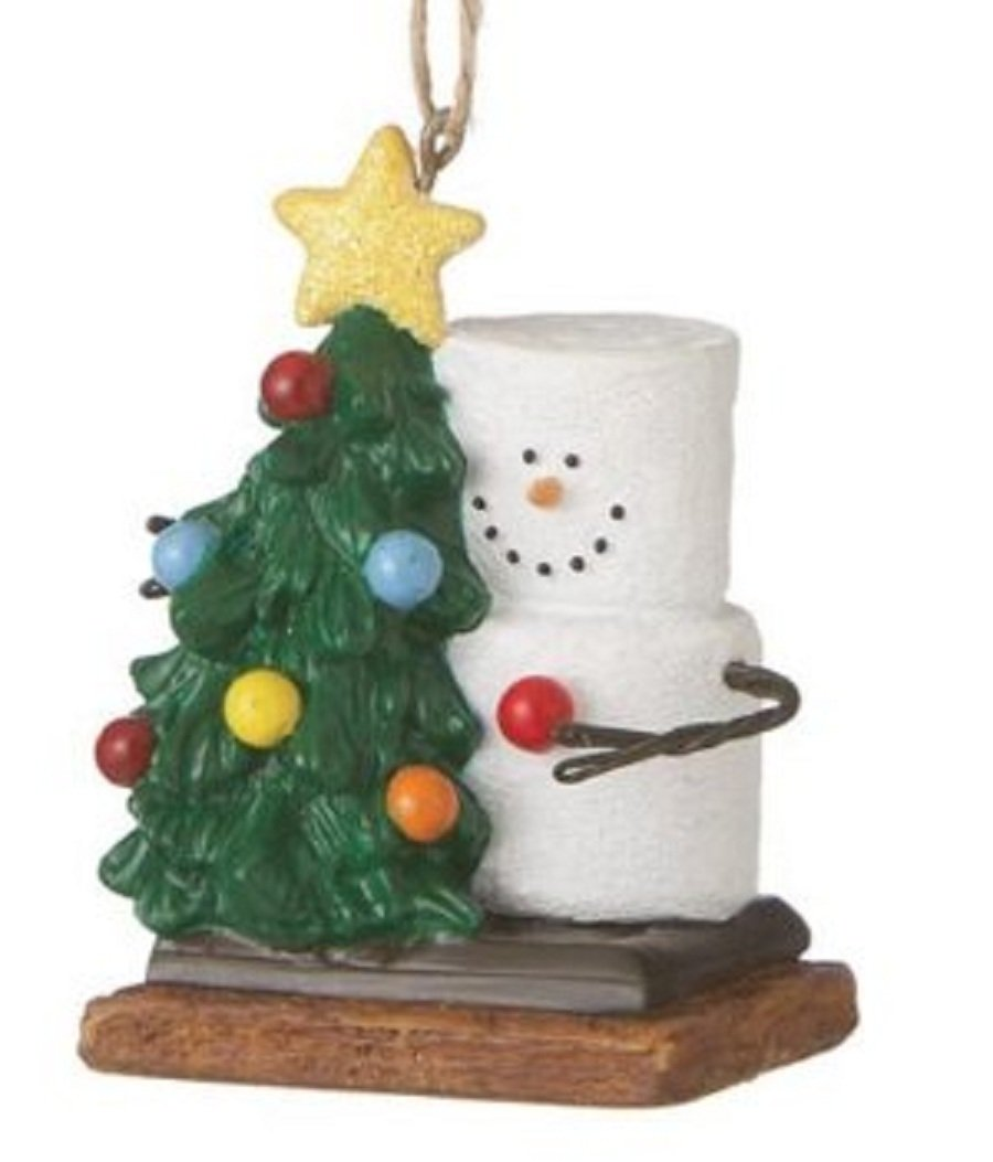 Amazon Com Christmas Ornament S'More With Christmas Tree Home  - Camp Christmas Tree