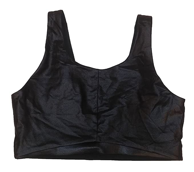 174b7dc042 Victoria s Secret Sport Lycra Fabric Sport Bra Cami Black M at Amazon Women s  Clothing store