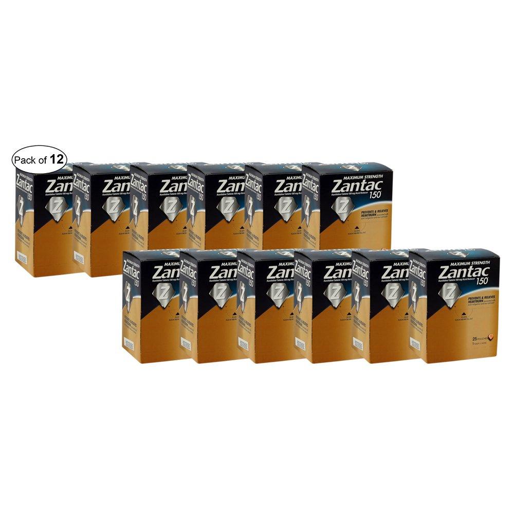 ZANTAC MAXIMUM STRENGTH (150 MG) (Pack of 12)