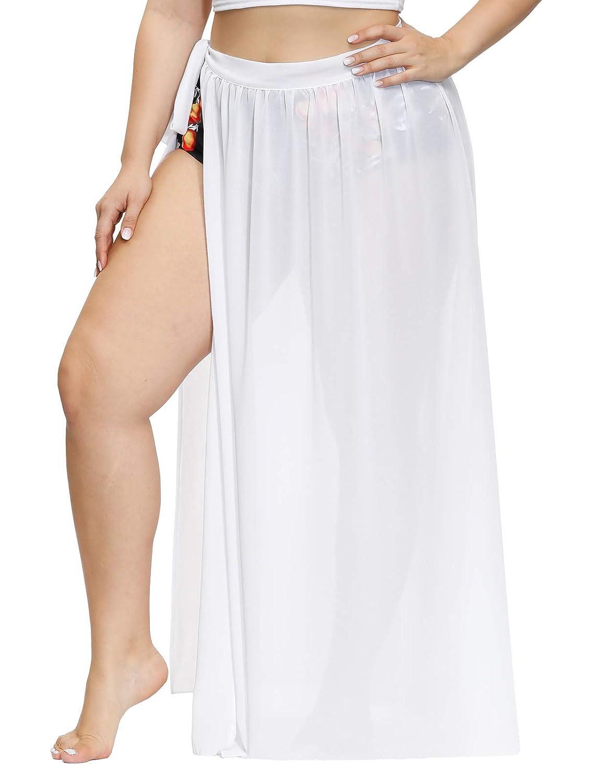 Hanna Nikole Women Sarong Swimsuit Plus Size Summer Beach Wrap Skirt Bikini Swimwear Cover Up