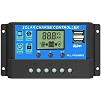 S2 10A/20A/30A 12V/24V LCD Controlador de Carga Solar función de visualización de Corriente regulador automático Panel Solar lámpara de batería protección de sobrecarga