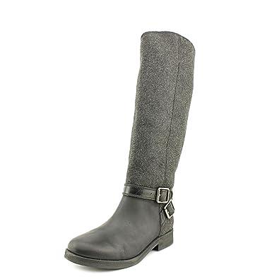 c218b85a16b Lucky Brand Falta Women s Black Leather Knee-high Boots US5.5m