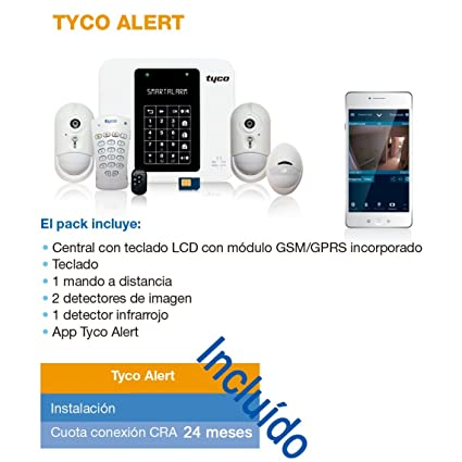 Tyco alarmas precio