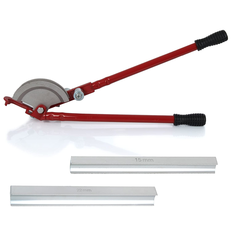 AllRight 15//22mm Pipe Bender Plumbers Tool Handheld Bend Tube Machine