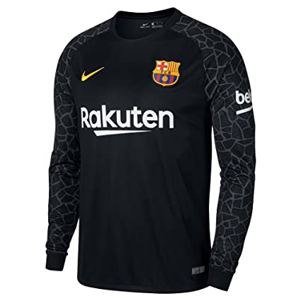 purchase cheap 01aa0 de283 Amazon.com : Nike Barcelona Home Goalkeeper Jersey 2017/2018 ...