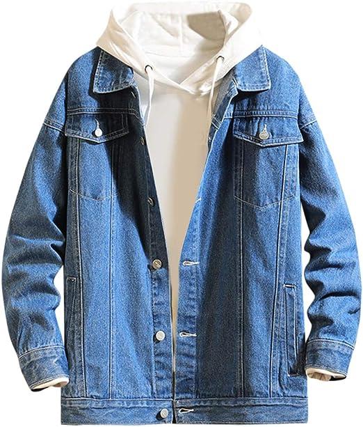 FOMANSH メンズ デニムジャケット ジージャン ジャケット アウター カジュアル 長袖 綿 Gジャン 春