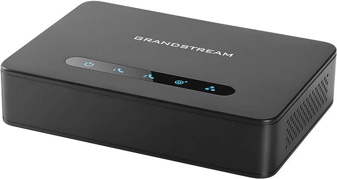 Grandstream Ht 812 2fxs Gateway Schwarz Goobay 50317 Elektronik