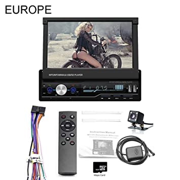 "Eillybird Pantalla Táctil Auto Mp5 Player- 7.0"" 1 DIN Pantalla Táctil Auto MP5 Player"