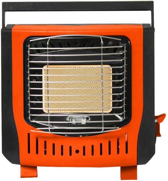 Estufa De Calefacción De Gas,Estufa De Calefacción Portátil Al Aire Libre Calentador De Gas,Estufa De Calefacción De Gas Licuado Interior Y Exterior Estufa De Pesca para Acampar Estufa De Calefacción