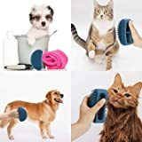 Famobest Dog Brush & Cat Brush, Soft Silicone Dog