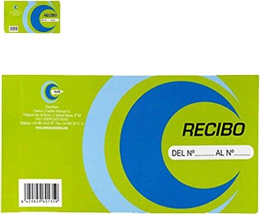 Acan Pack 3 Talonarios de Recibos 1/3: Amazon.es: Hogar